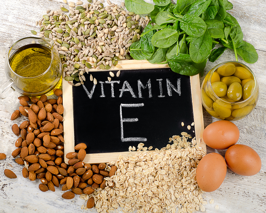 Vitamin E (tocopherol) functions, uses, and health benefits